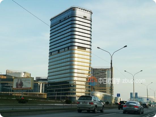 来白俄罗斯国立大学半年了,第一次到这是什么地方